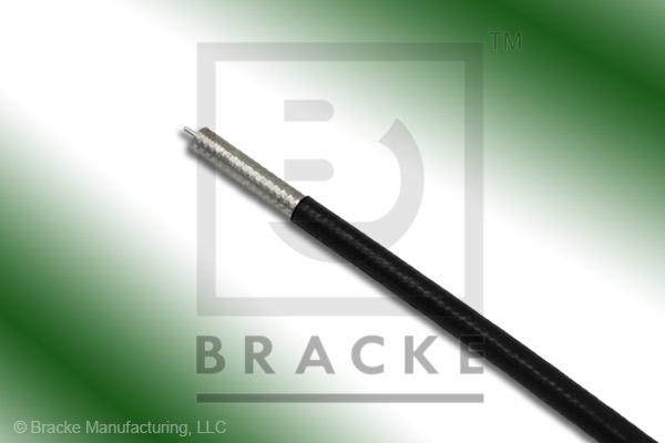 "50 Ohm, RG405-Flex-Jacketed Bulk Cable, PVC Jacket .127"" Dia, Solid Center Conductor .020"""