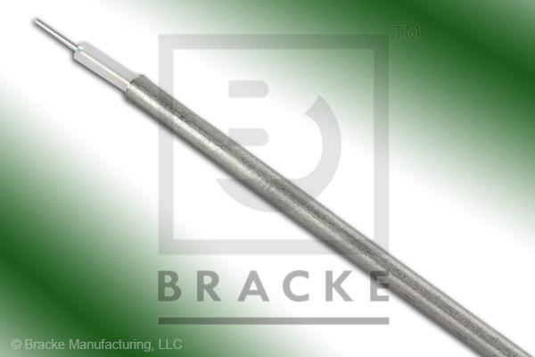 "50 Ohm, RG405-Alum Bulk Cable, TPA Jacket, .085"" Dia. 1 Shield, Solid Center Conductor .020"""