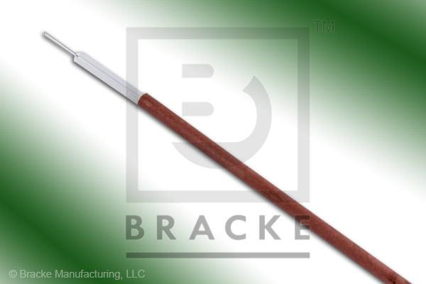 50 Ohm, Semi-Rigid 047 Bulk Cable,  Bare Copper, .047 Dia. 1 Shield, Solid Center Conductor .011""