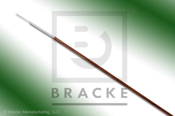 "50 Ohm, Semi-Rigid 020 Bulk Cable, Bare Copper, .020"" Dia. 1 Shield, Solid Center Conductor .004"""