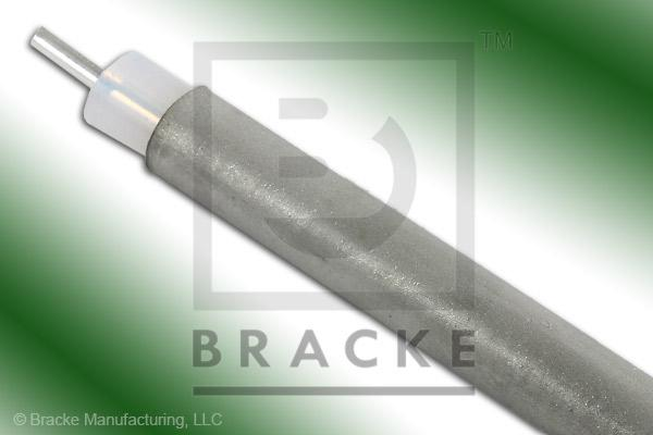 "50 Ohm, RG401-Alum Bulk Cable, TPA Jacket, .250"" Dia. 1 Shield, Solid Center Conductor .064"""