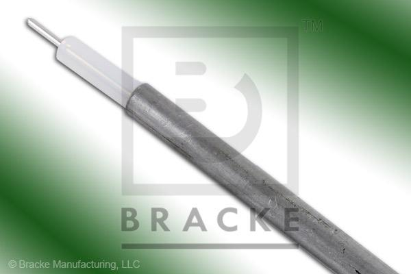 "50 Ohm, RG402-Alum Bulk Cable, TPA Jacket, .141"" Dia. 1 Shield, Solid Center Conductor .036"""