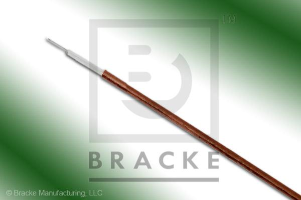 50 Ohm, Semi-Rigid 034 Bulk Cable, Bare Copper, .034 Dia. 1 Shield, Solid Center Conductor .008""