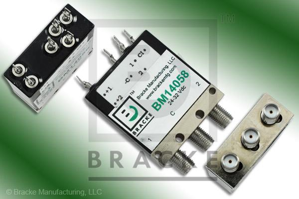 SMA Female Relay SPDT Switch, DC-18 GHz, 24-32 Vdc Features:Self Cutoff,Latching,Indicators