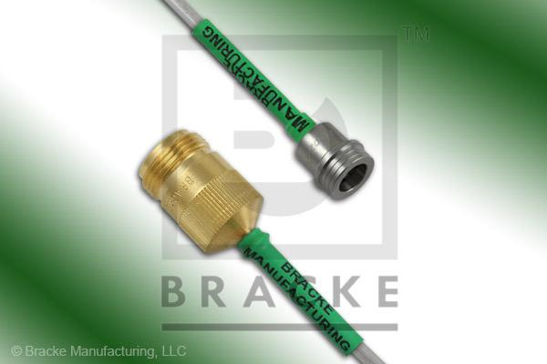 QN Male to N Female Cable Assembly RG402-Alum