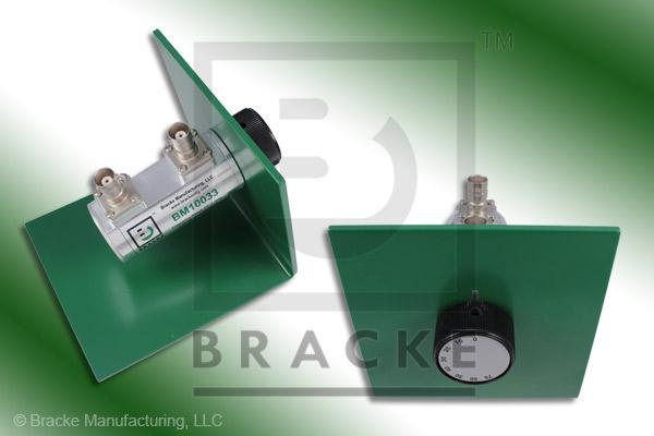 50 Ohm BNC Female Attenuator 2 GHz, 0-70 in 10 dB Steps Rotary Single Stage Bench Mount