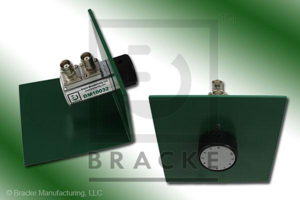 50 Ohm BNC Female Attenuator 2 GHz, 0-10 in 1 dB Steps Rotary Single Stage Bench Mount