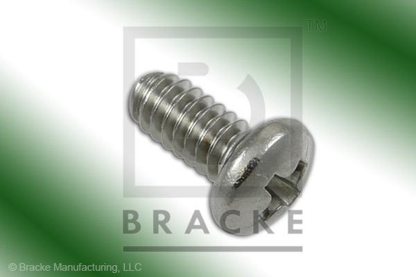 "#4-40 Phillips Screw, 1/4"" Length, Stainless Steel *Sold in 50 Pieces Per Pack*"