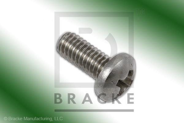 "#3-56 Phillips Screw, 1/4"" Length, Stainless Steel *Sold in 50 Pieces Per Pack*"