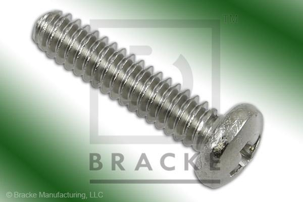 "#4-40 Phillips Screw, 1/2"" Length, Stainless Steel *Sold in 50 Pieces Per Pack*"