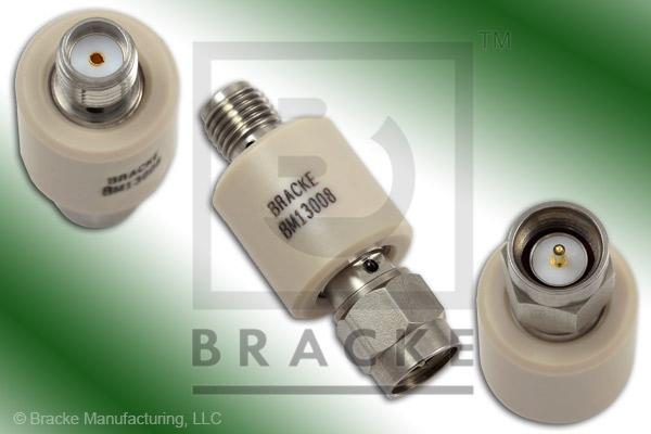 SMA Male to Female DC Block 10 MHz-18 GHz Inner/Outer Max VSWR 1.35:1, 200 Volts Max