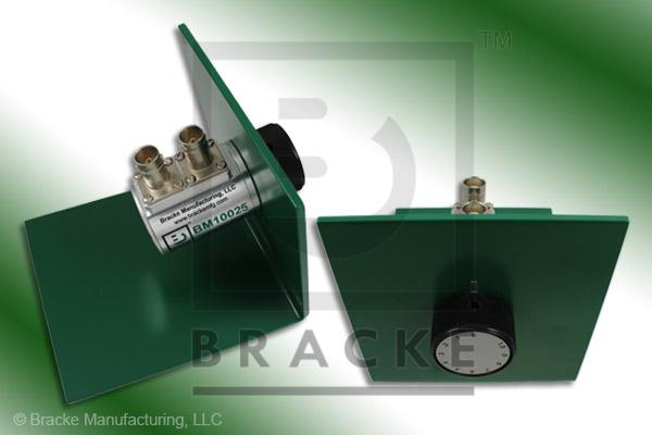 75 Ohm BNC Female Attenuator 500 MHz, 0-1 in .1 dB Steps Rotary Single Stage Bench Mount