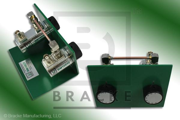 50 Ohm BNC Female Attenuator 2 GHz, 0-80 in 1 dB Steps Rotary Double Stage Bench Mount