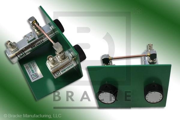 50 Ohm BNC Female Attenuator 2 GHz, 0-110 in 1 dB Steps Rotary Double Stage Bench Mount