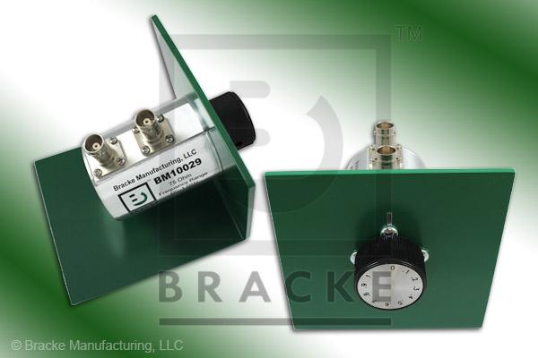75 Ohm BNC Female Attenuator 1 GHz, 0-1 in .1 dB Steps Rotary Single Stage Bench Mount