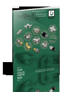 """1 5//8/"""" EIA to N Male Adapter BRACKE BM51042"""