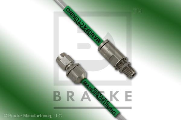 3.5mm Female Bulkhead to 3.5mm Male Cable Assembly RG402-Alum
