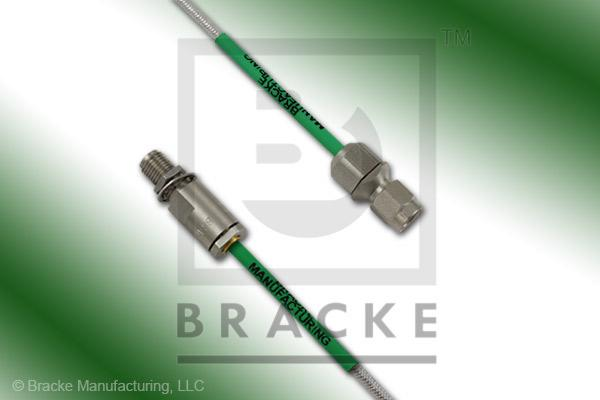 3.5mm Female Bulkhead to 3.5mm Male Cable Assembly RG405-Flex
