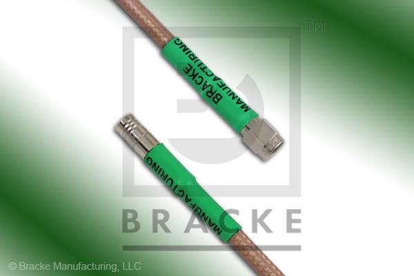 SMA Male to SMB Plug Cable Assembly RG142B/U