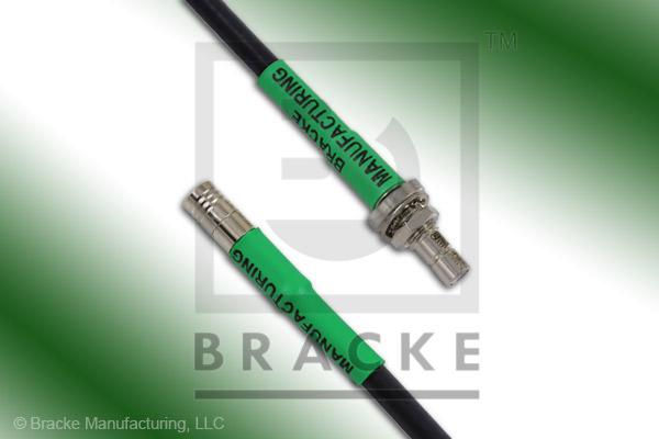 SMB Jack Bulkhead to SMB Plug Cable Assembly RG58C/U