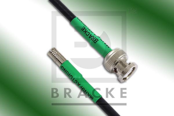 BNC Male to SMB Plug Cable Assembly RG58C/U