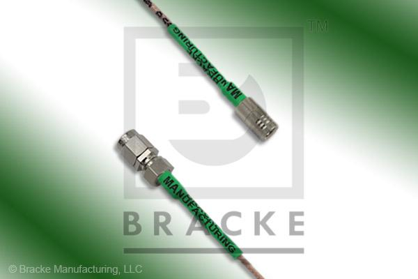 SMA Male to SMB Plug Cable Assembly RG178B/U