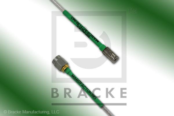 SMA Male to SMB Plug Cable Assembly RG405-Flex