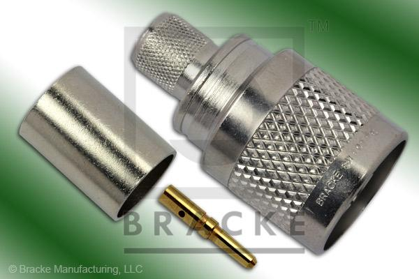SC Male Connector Crimp RG9, RG214, RG225, RG393