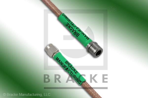 QMA Male to SMA Male Cable Assembly RG142B/U
