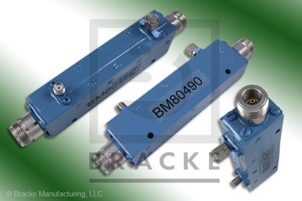N Female High Power Directional Coupler, Freq. Range 1-11 GHz, Coupling 35 +/- 1.5dB