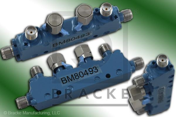 SMA Female Dual Directional Coupler, Freq. 12.4-18 GHz Coupling 10 +/- 1.25 dB