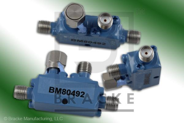 SMA Female Broadband Directional Coupler, 6-18 GHz Coupling 20 dB +/- 1.25 dB