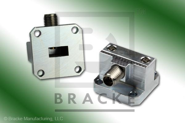 Waveguide to Coax Adapter 2.92mm Female WR-34 Frequency Range 22.00-33.00 GHz