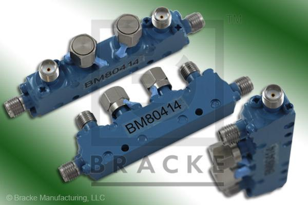 SMA Female Dual Directional Coupler, Freq. Range 4-8 GHz Coupling 30 +/- 1.25 dB