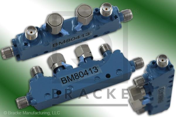 SMA Female Dual Directional Coupler, Freq. Range 4-8 GHz Coupling 20 +/- 1.25 dB