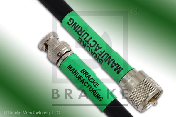 BNC Male to UHF Male Cable Assembly RG213/U