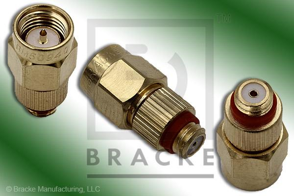 10-32 Female to SMA Male Adapter