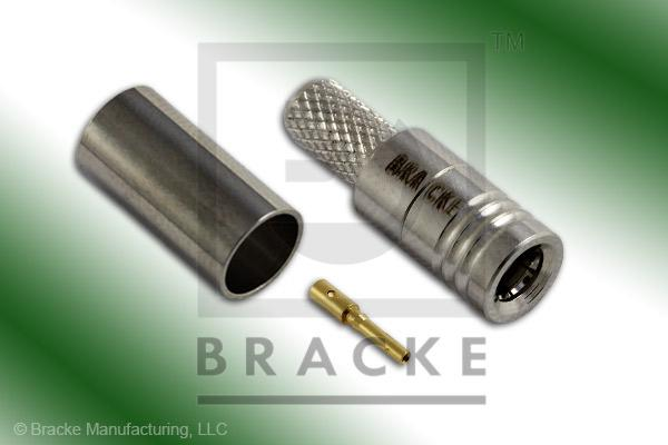 SMB Plug Connector Crimp LMR-195, RG58, TCOM-195