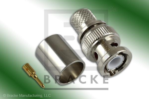 BNC Male Connector Crimp RG8, RG213