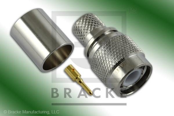 TNC Male Connector Crimp RG8, RG213