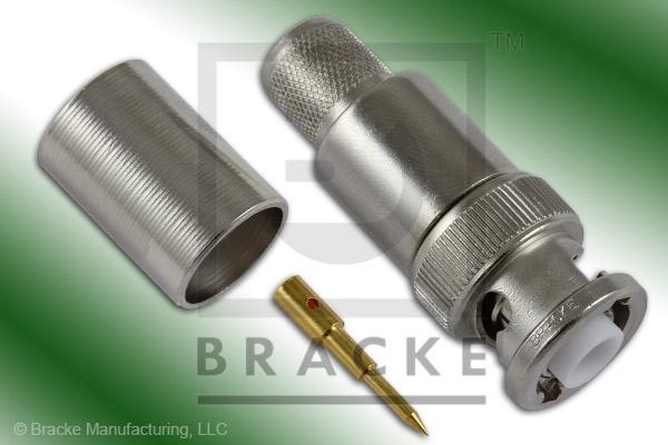 MHV Male Connector Crimp RG8, RG213