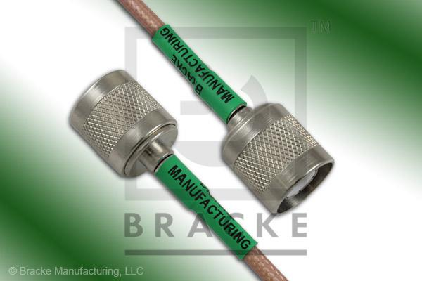 SC Male to SC Male Cable Assembly RG142B/U