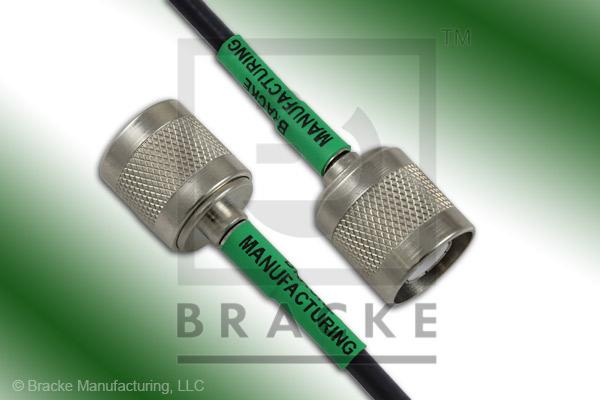SC Male to SC Male Cable Assembly RG55B/U