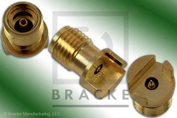 "3.5mm Female End Launch .062"" Thick Board Connector .012"" Round Contact"