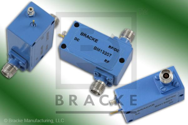 2.92mm Bias Tee Solder Lug & Pin Frequency Range 30 KHz-27 GHz