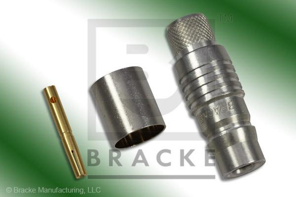 QN Female Connector Crimp RG8, RG213