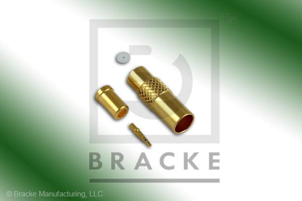 MMCX Jack Connector Crimp RG178, RG196