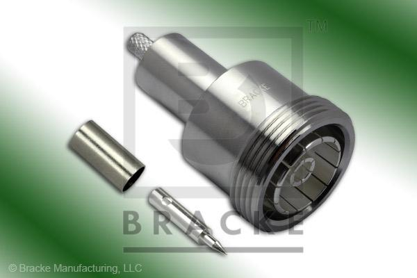 7/16 DIN Female Connector Crimp LMR-195, RG58, TCOM-195