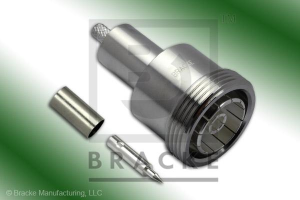 7/16 DIN Female Connector Crimp RG55, RG142, RG223 RG400