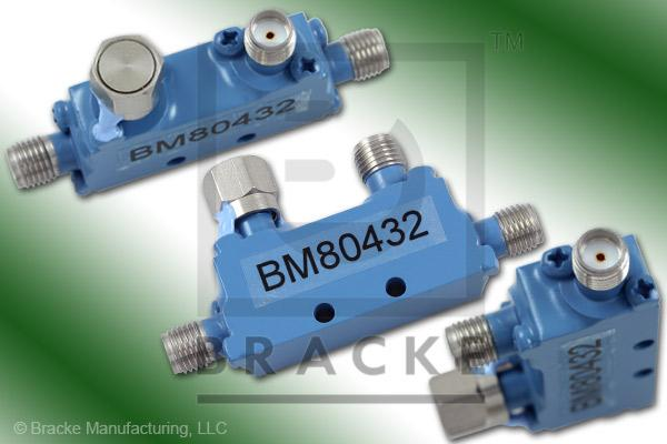 SMA Female Broadband Directional Coupler 4-12.4 GHz Coupling 6 +/- 1.00 dB